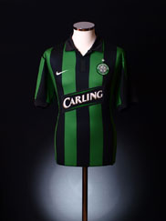 2006-08 Celtic Away Shirt L