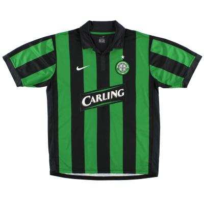 2006-08 Celtic Away Shirt L