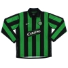 2006-08 Celtic Away Shirt Vennegoor of Hesselink #10 L/S L