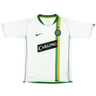 2006-08 Celtic European Shirt L.Boys