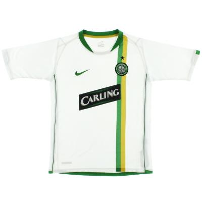 2006-08 Celtic European Shirt L.Boys