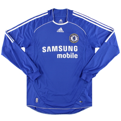 2006-08 Chelsea adidas Home Shirt L/S M