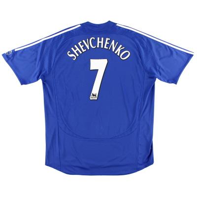2006-08 Chelsea Home Shirt Shevchenko #7 XL