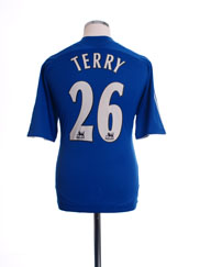 2006-08 Chelsea Home Shirt Terry #26 XL