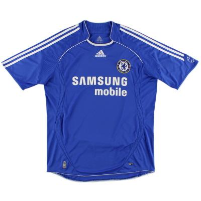 2006-08 Chelsea adidas Home Shirt M