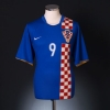 2006-08 Croatia Away Shirt Prso #9 XL