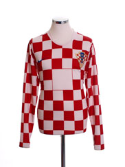 2006-08 Croatia Player Issue Home Shirt L/S L