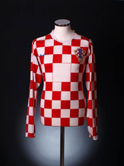 2006-08 Croatia Player Issue Home Shirt L/S XL