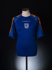 2006-08 Cyprus Home Shirt L