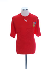 2006-08 Czech Republic Basic Home Shirt