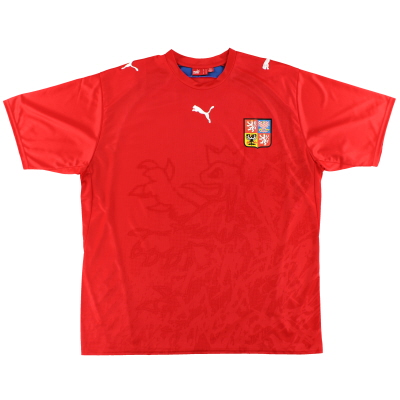 2006-08 Czech Republic Home Shirt L