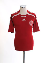 2006-08 Denmark Home Shirt *Mint* M