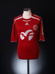 2006-08 Denmark Home Shirt *Mint* XL