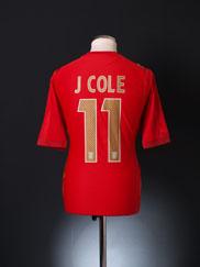 2006-08 England Away Shirt J.Cole #11 L