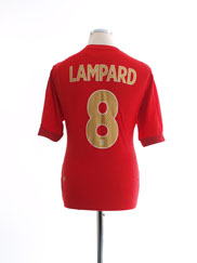 2006-08 England Away Shirt Lampard #8 L