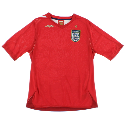 2006-08 England Umbro Away Shirt *Mint* Womens 12
