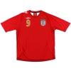 2006-08 England Away Shirt Rooney #9 XL