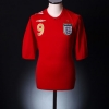 2006-08 England Away Shirt Rooney #9 M