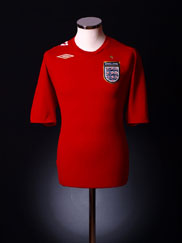 2006-08 England Away Shirt M