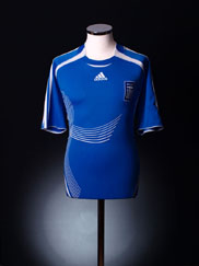 2006-08 Greece Home Shirt L