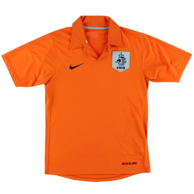 2006-08 Holland Nike Home Shirt L.Boys