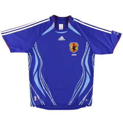 2006-08 Japan adidas Home Shirt L.Boys