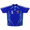 2006-08 Japan Home Shirt Miyamoto #5 M