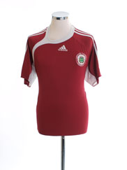 2006-08 Latvia Home Shirt XL