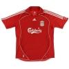 2006-08 Liverpool adidas Home Shirt Gerrard #8 L.Boys
