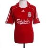 2006-08 Liverpool European Home Shirt Gerrard #8 L