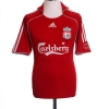 2006-08 Liverpool Home Shirt Gerrard #8 M