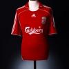 2006-08 Liverpool Home Shirt Gerrard #8 XS.Boys