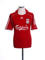 2006-08 Liverpool Home Shirt S