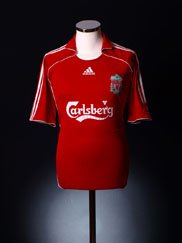 2006-08 Liverpool Home Shirt XS.Boys