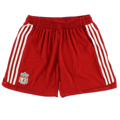 2006-08 Liverpool Home Shorts *Mint* L