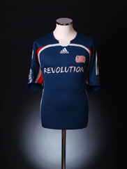 2006-08 New England Revolution Home Shirt L