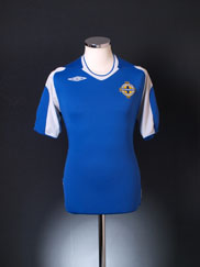 2006-08 Northern Ireland Away Shirt M