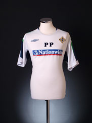 2006-08 Northern Ireland Player Issue Training Shirt 'PP' L
