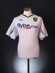 2006-08 Norwich City Away Shirt XL