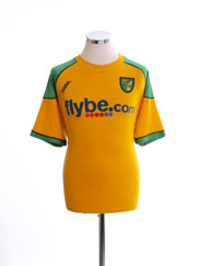2006-08 Norwich City Home Shirt XL