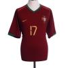2006-08 Portugal Home Shirt C.Ronaldo #17 XL