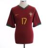 2006-08 Portugal Home Shirt C. Ronaldo #17 M