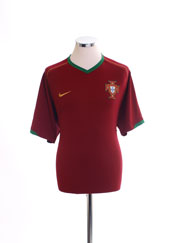2006-08 Portugal Home Shirt S
