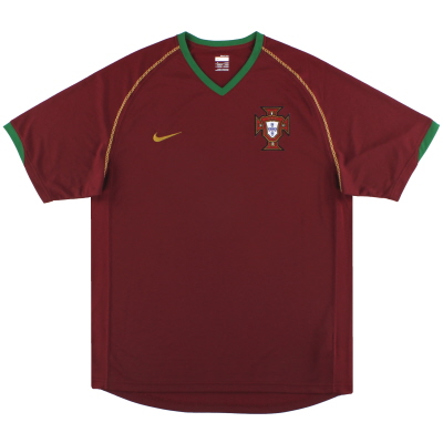 2006-08 Portugal Nike Home Shirt XXL