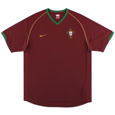 2006-08 Portugal Nike Home Shirt L