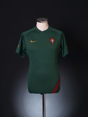 2006-08 Portugal Player Issue Training Shirt S