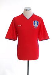 2006-08 South Korea Home Shirt L