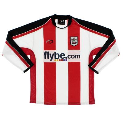 2006-08 Southampton Home Shirt L/S M