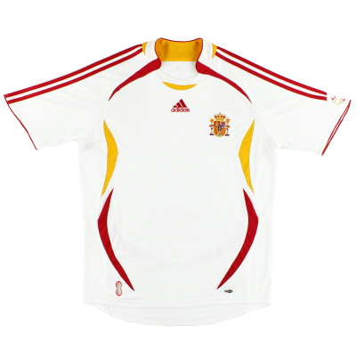 2006-08 Spain Away Shirt L