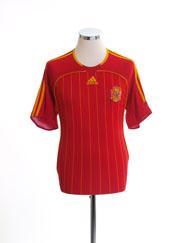 2006-08 Spain Home Shirt M